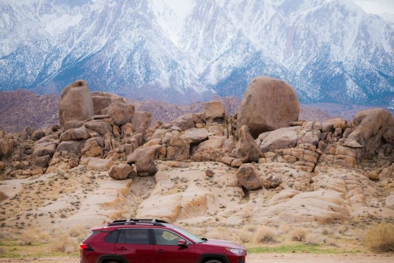 Go on shoot with @btonevibes and #RAV4 Adventure, now on #IGTV! #LetsGoPlaces...