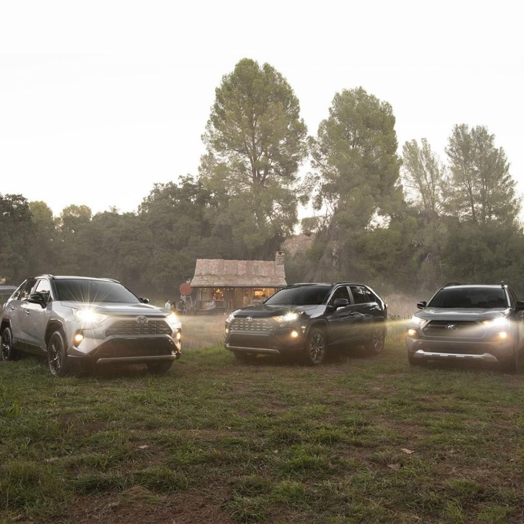 There is no I in team, conquer life together. #RAV4 #LetsGoPlaces...