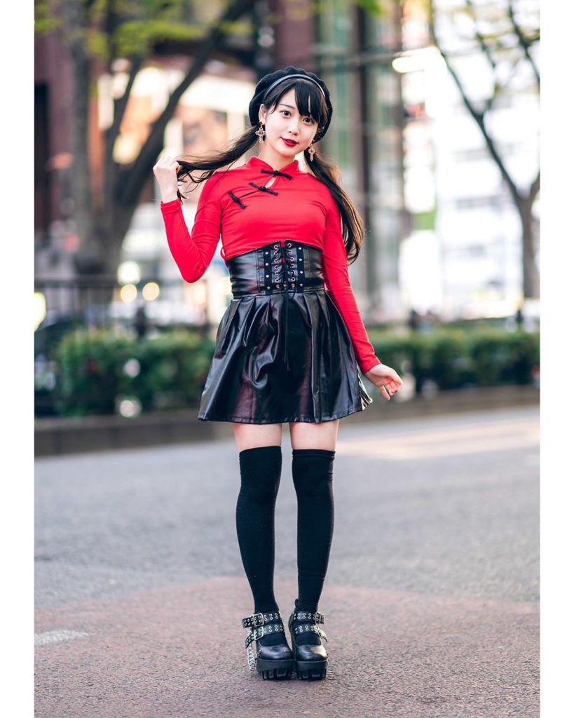 Aspiring Japanese idol - and Harajuku shop staffer - Misuru (@meguharajuku) on t...