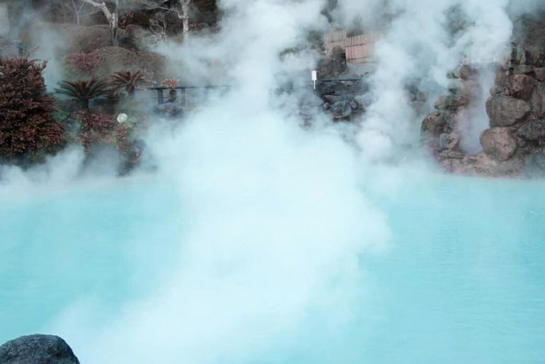 The Hells of Beppu in Oita prefecture aren't for bathing, as they're far too HO...