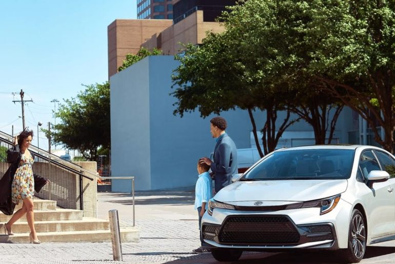 Embark on your greater than ever moments with the 2020 #Corolla. #LetsGoPlaces...