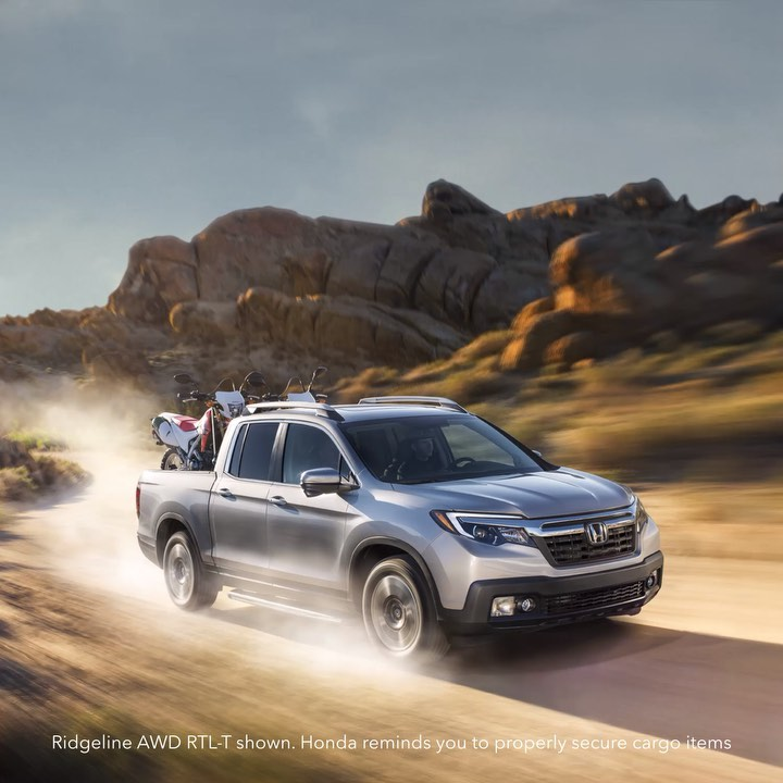 The Ridgeline is zipping through #MayMotorsports. We dare you to try and keep up...