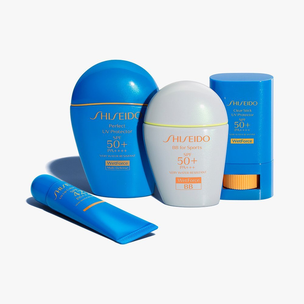 #ShiseidoSuncare. Powerful protection from UV rays. Made for action. Made with s...