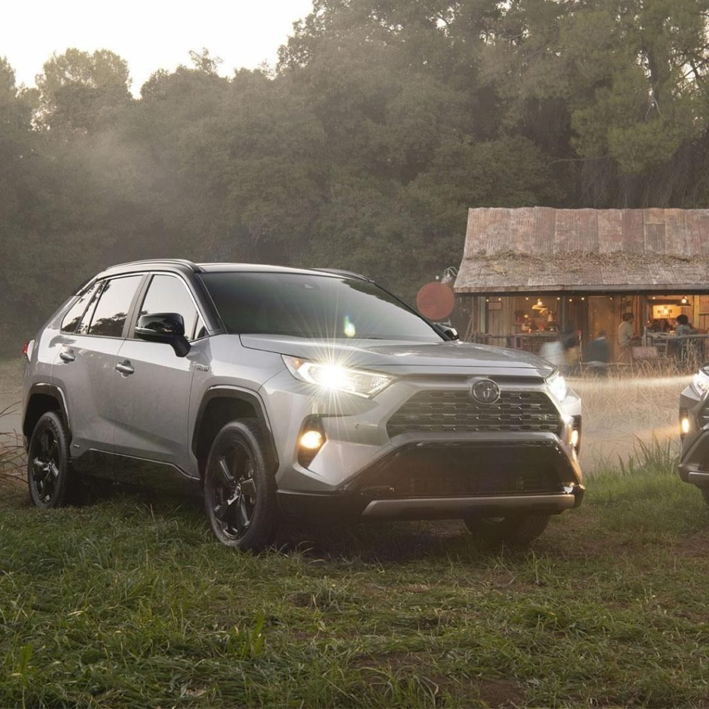 Refined and rugged. Enjoy the journey in the all new #RAV4. #LetsGoPlaces...
