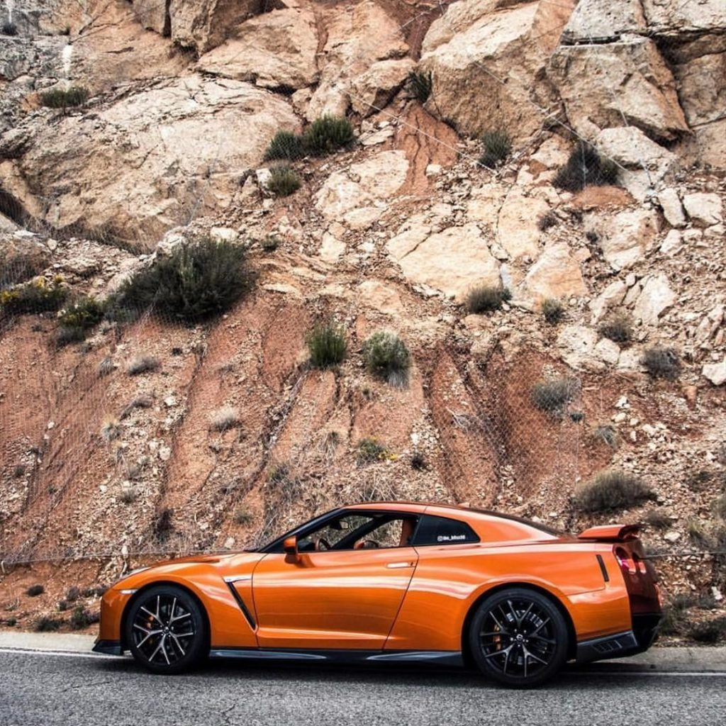 A Beast in the great outdoors. #Nissan #OMGTR #NissanGTR : @bordasfotografia...