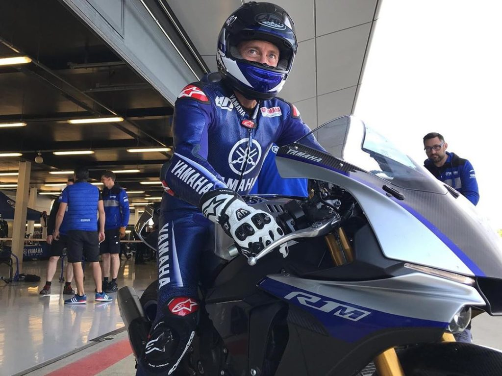 Only true racing fanatics allowed!  . YMR Managing Director Lin Jarvis joined YZ...