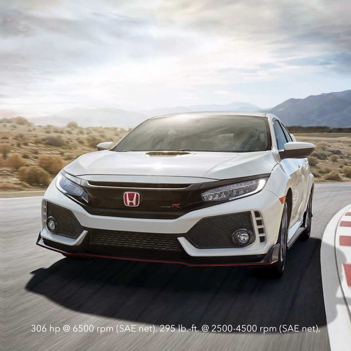 Our racing origins have never been stronger than in the Civic Type R. #MayMotors...