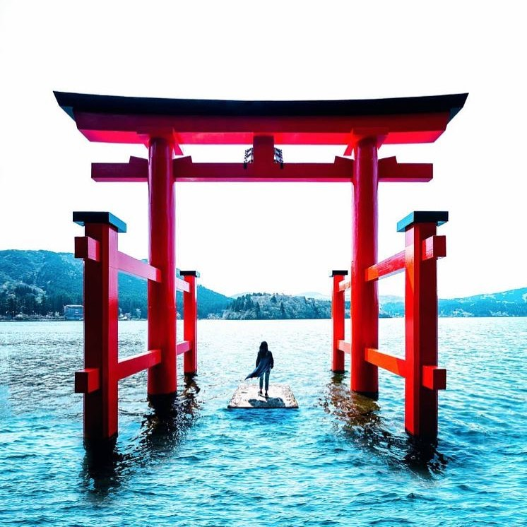 Discover your gateway to Japan in beautiful Hakone! This picture perfect view ca...