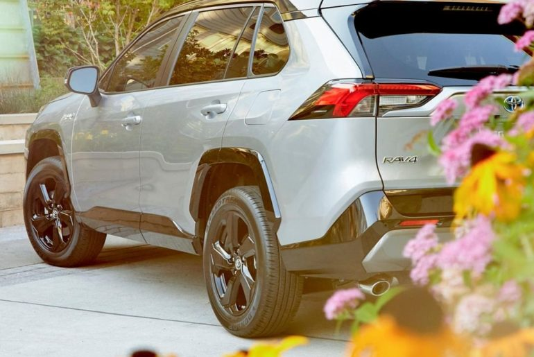 It's not just powerful––it's a Hybrid. #RAV4 #LetsGoPlaces...