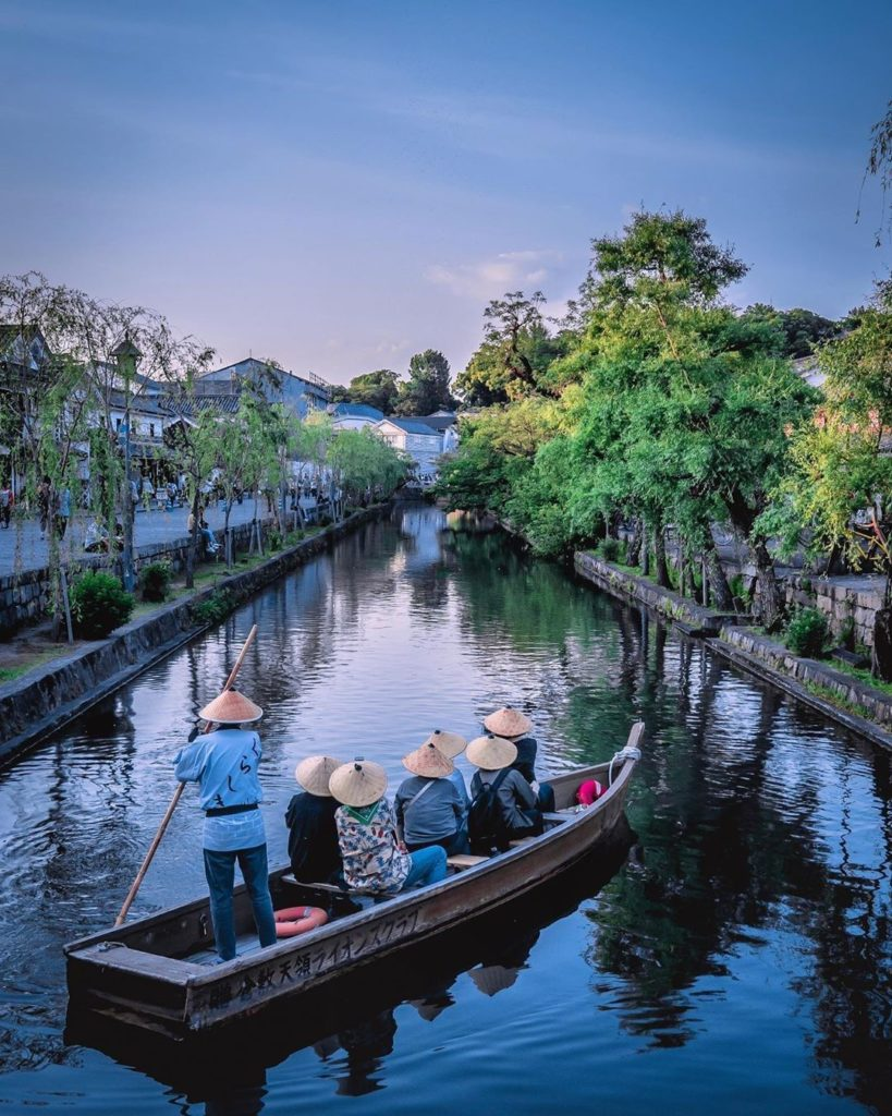 Kurashiki in Okayama Prefecture is often referred to as the Venice of Japan, and...