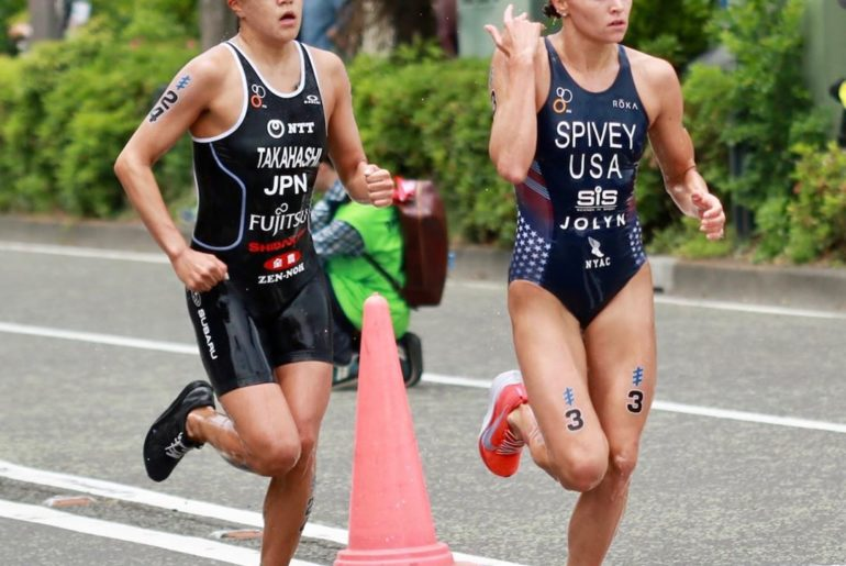 Yuko Takahashi came up with her best result ever in the World Triathlon Series c...