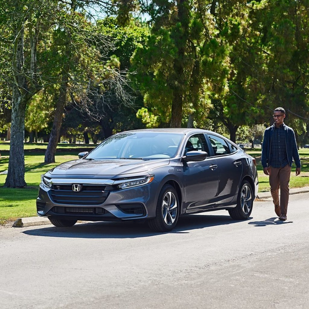 It's May, and if you're going to put your 2019 #HondaInsight in Park, make it th...