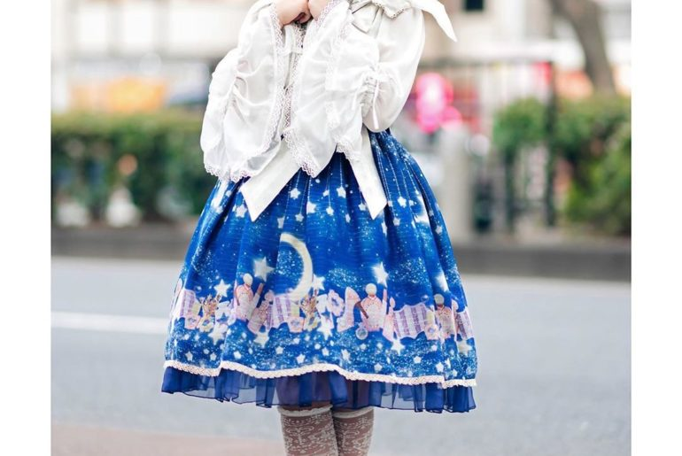 11-year-old Japanese student Yuki (@kiyu.princess) on the street in Harajuku wea...