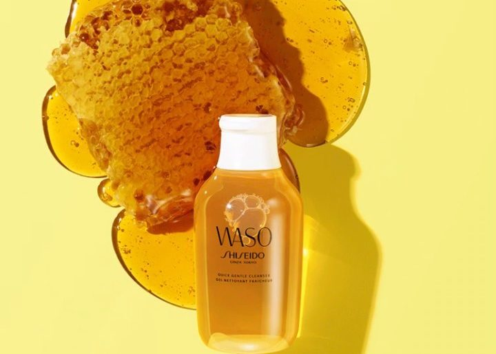 Our WASO Quick Gentle Cleanser dissolves impurities and removes makeup without s...