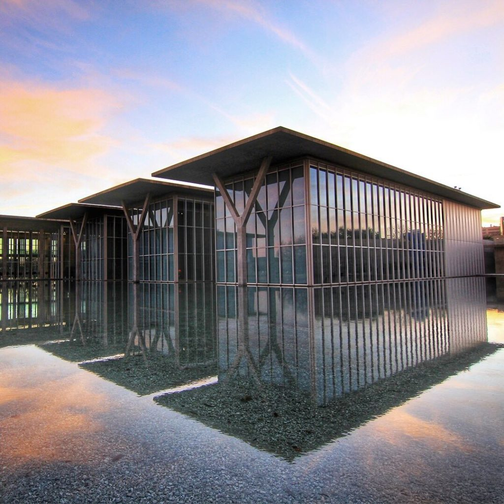 . Designed by Japanese architect Tadao Ando, the Modern Art Museum of Fort Worth...