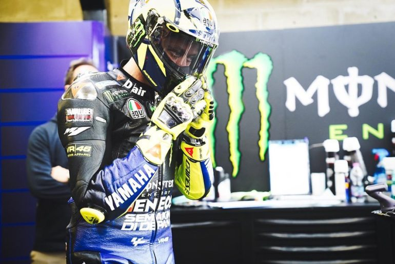 "@valeyellow46 - Qualifying: P5 ""I'm very happy, because this morning I was out o..."