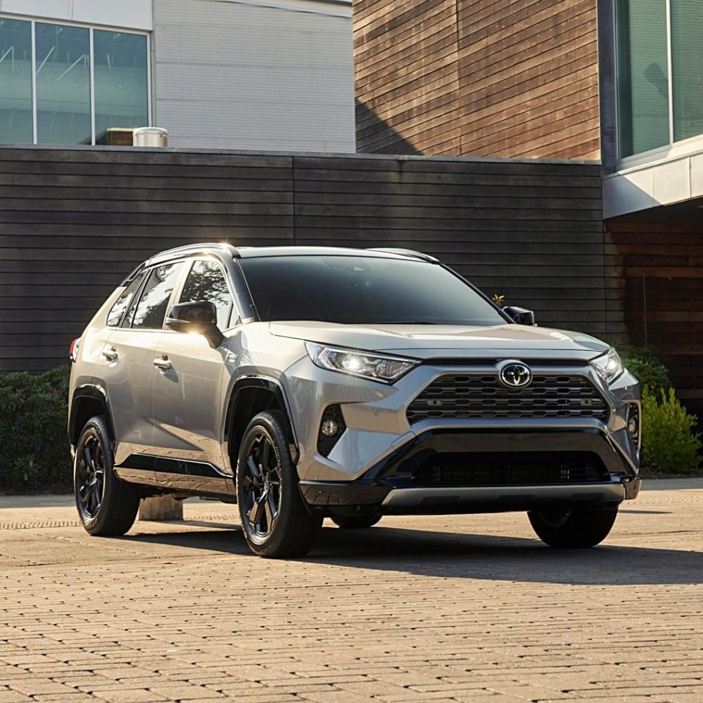 A new level of innovation has arrived. The all-new #RAV4 Hybrid. #LetsGoPlaces...