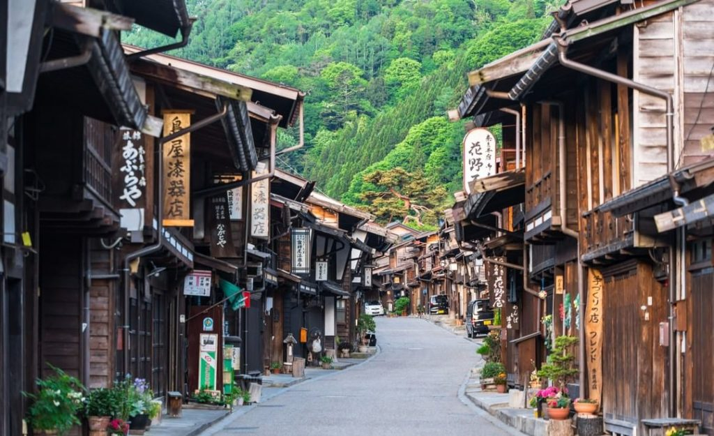 Fancy a hike? Narai-juku is just one of the pretty postal towns on the ancient N...