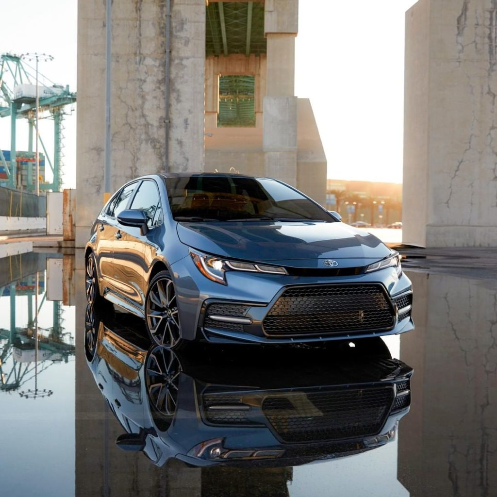 Lower, wider and more aggressive, #Corolla's all-new streamlined design speaks f...