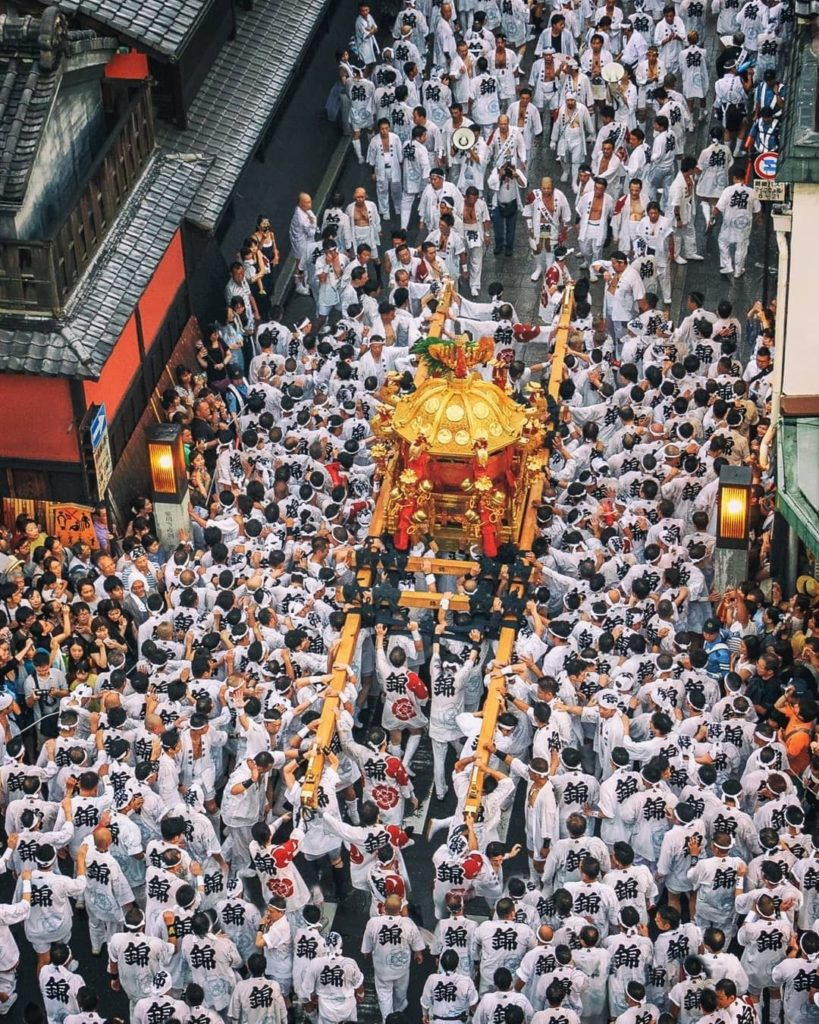 The Gion Festival takes place annually in Kyoto and is one of the most famous fe...