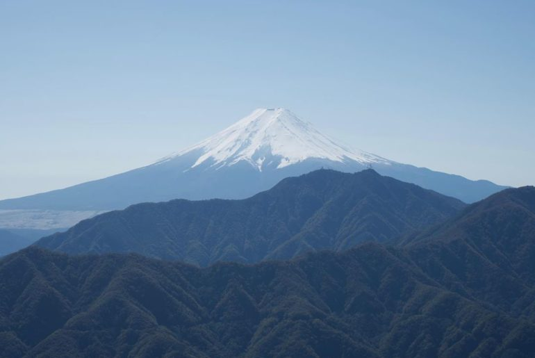 The view of Japan from the top of Mount Fuji is unparalleled, especially when su...
