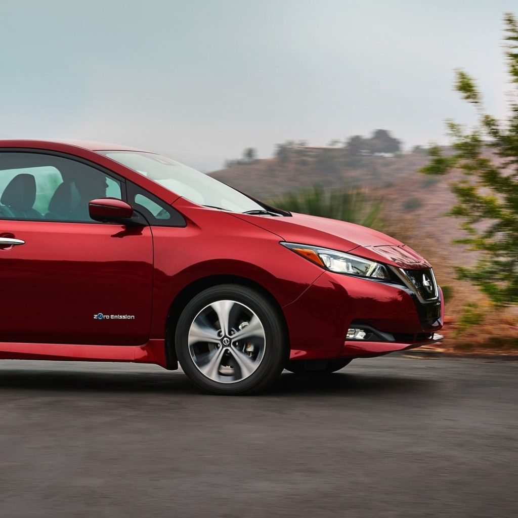 Our other good side.  #NissanLEAF #SimplyAmazing...