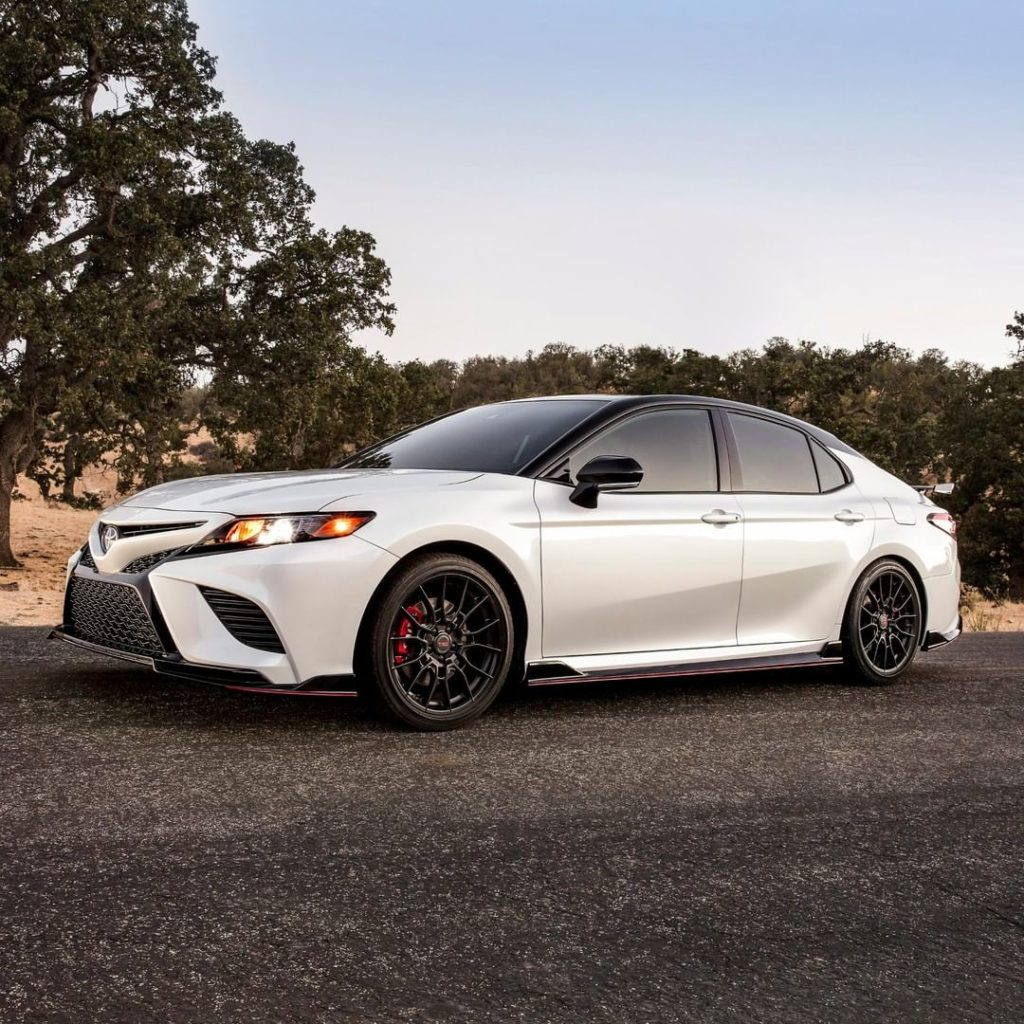 This is what happens when you toss the Camry keys to our Toyota Racing Developme...