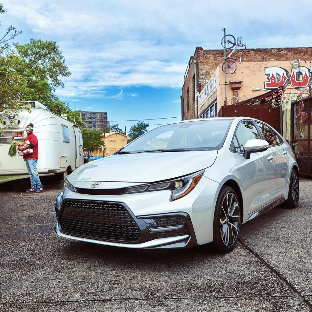 Celebrate moments that matter most in the 2020 #Corolla #LetsGoPlaces...