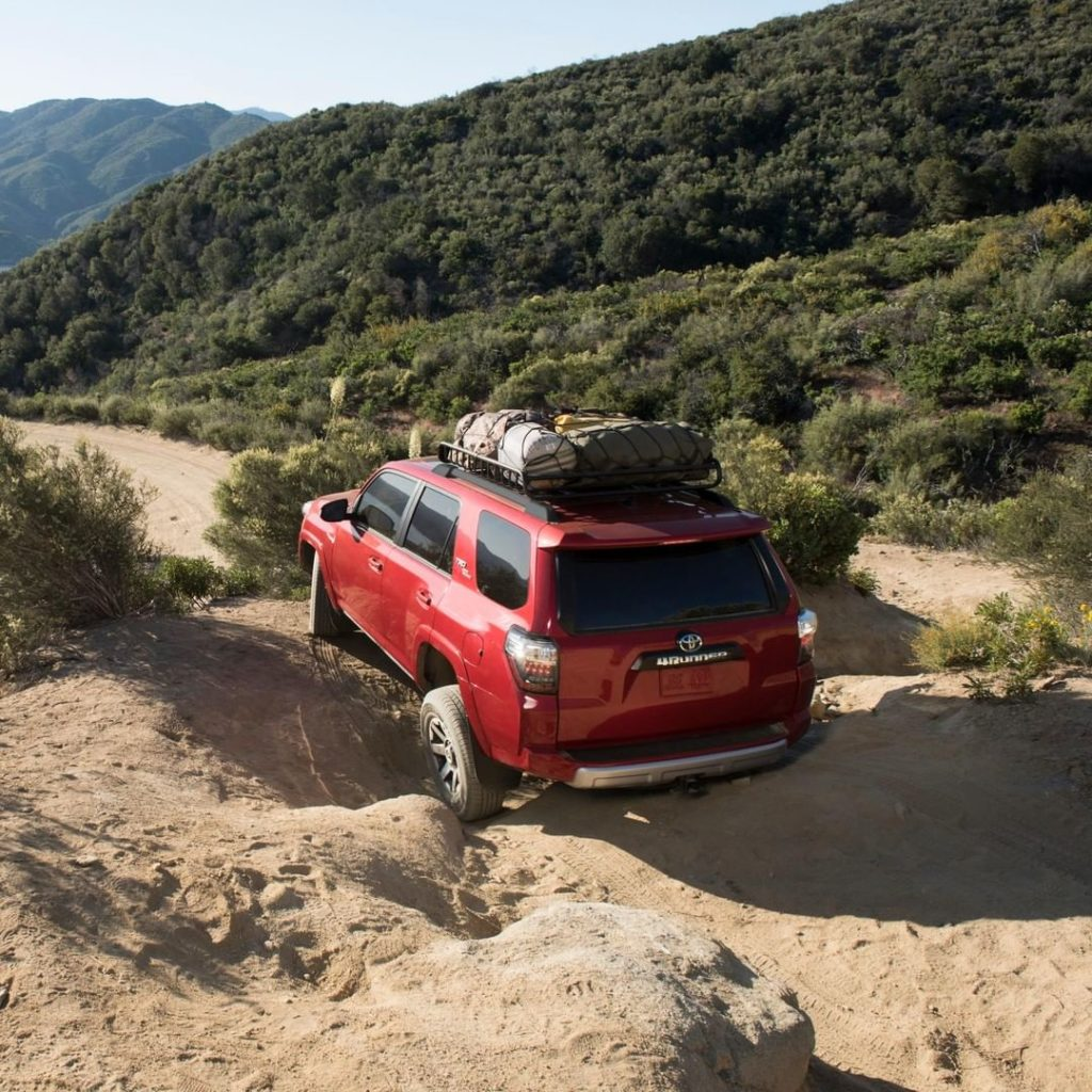Outfitted to take you to the limit. #4Runner #LetsGoPlaces...
