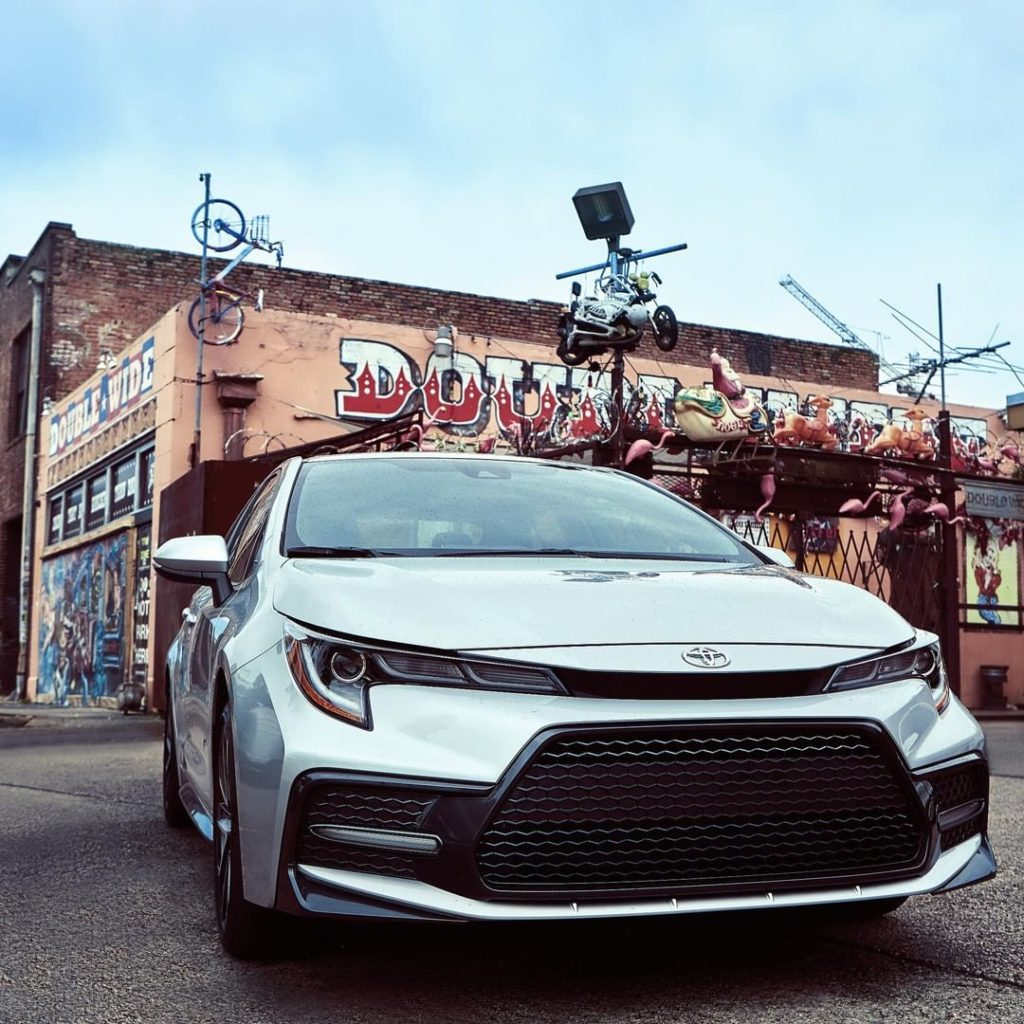Standout no matter where you are in the 2020 #Corolla #LetsGoPlaces...