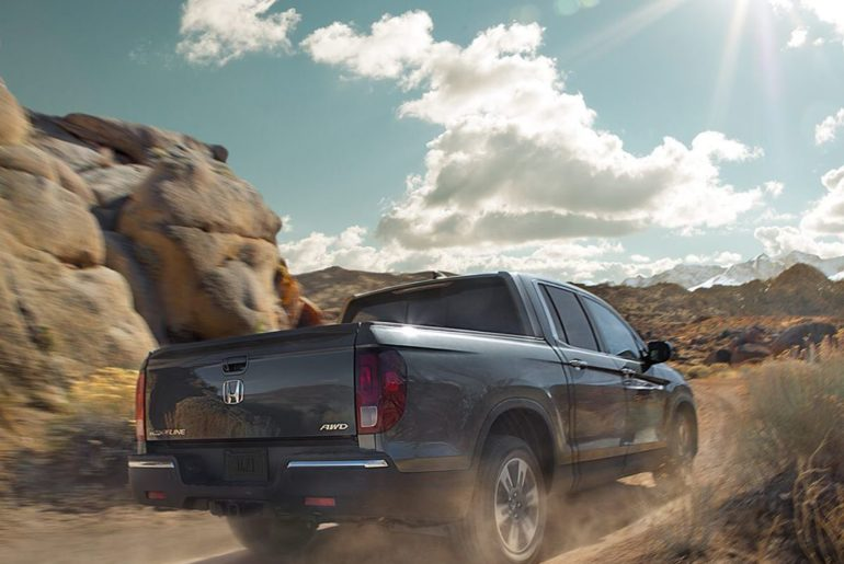 No matter what type of road, the 2019 Honda Ridgeline is a sweet ride with a tec...