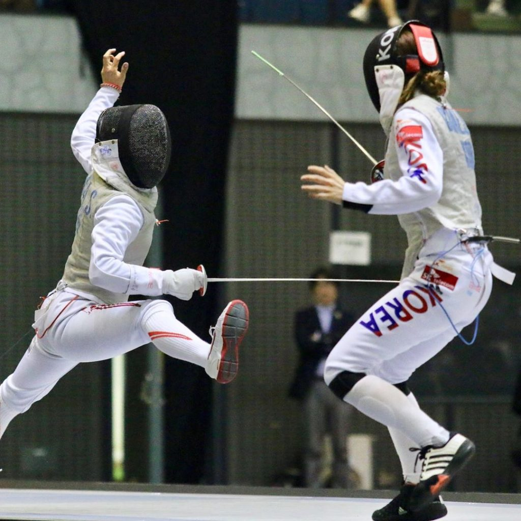 Fencers around the globe are currently fighting for spots at the 2020 Summer Gam...