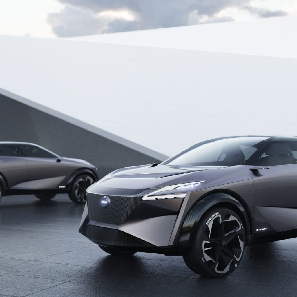 The Nissan IMQ concept's award-winning e-POWER system drives superior fuel effic...