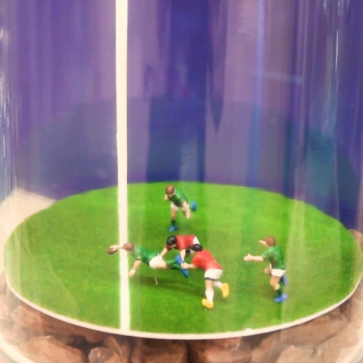 Check out these beautifully designed #miniatures of every sport you will see in ...
