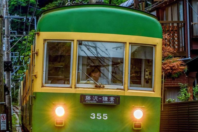 The Enoshima Electric Railway links #Fujisawa, #Enoshima and #Kamakura, and ther...