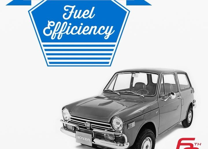 Throughout 60 years of Honda history, we've made a lot of breakthroughs in fuel ...