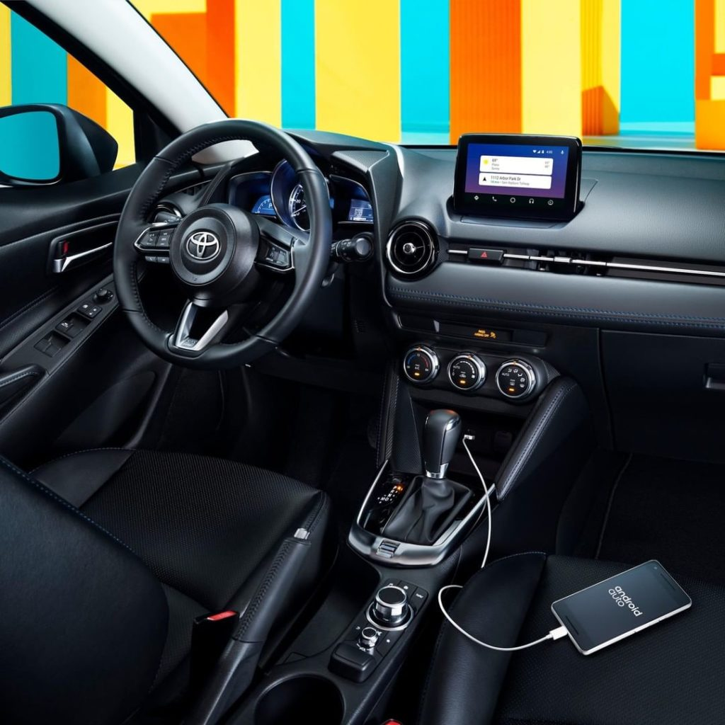The all-new 2020 #Yaris Hatchback has the tech you need to stay connected. Upgra...