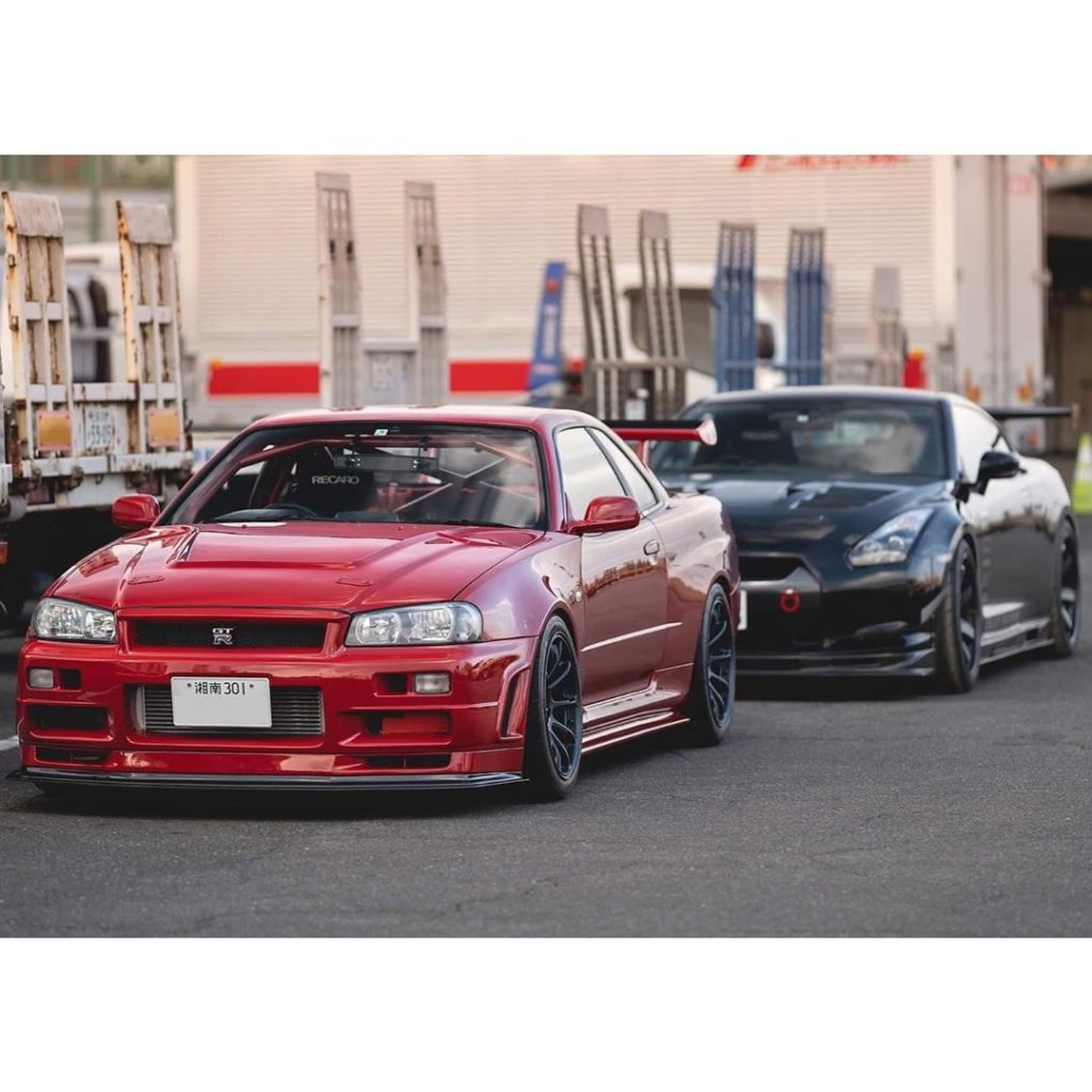 Blood brothers  Photo @finalformusa . . . . Follow the Crew:  @Nissan_GTR_Lovers...
