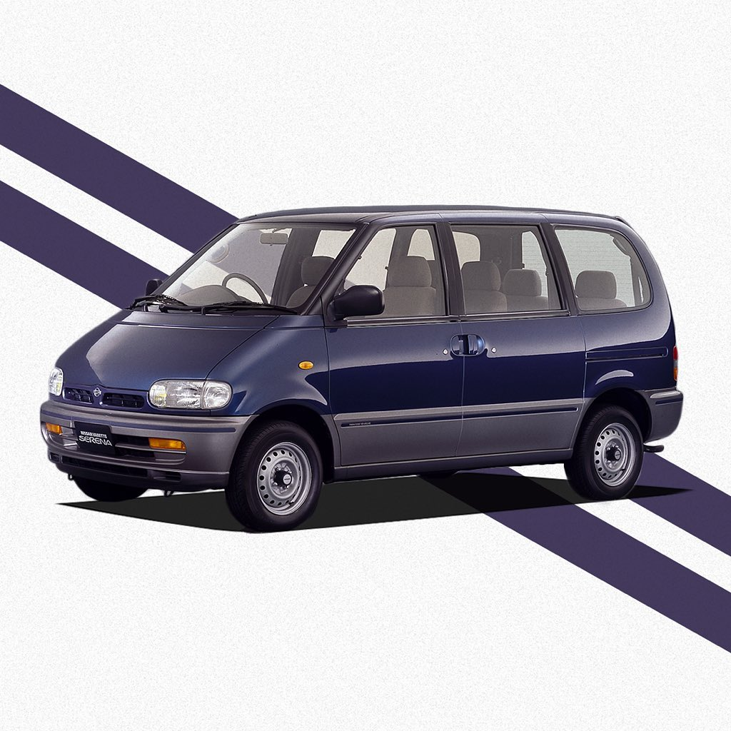 In June #1991, the first generation Vanette #Serena C23 was released, the direct...