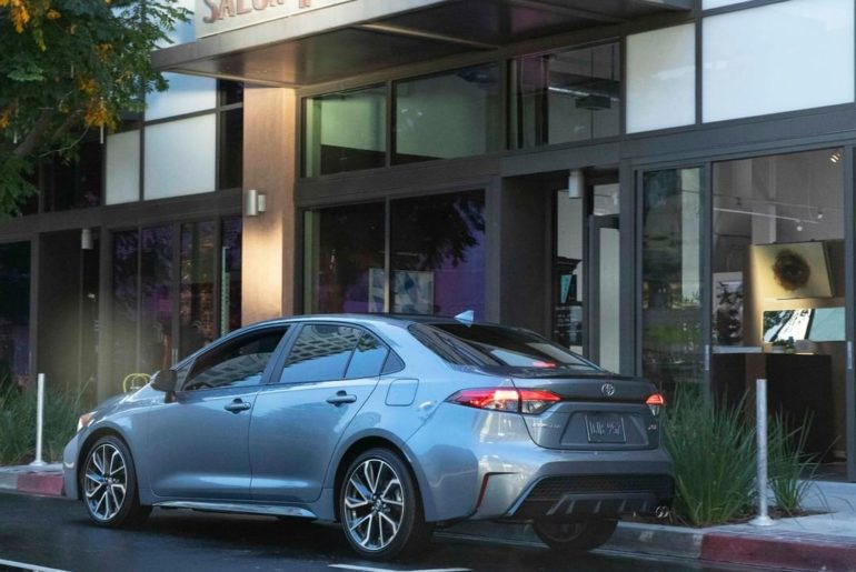 Arrive in style. The greater than ever 2020 #Corolla #LetsGoPlaces...