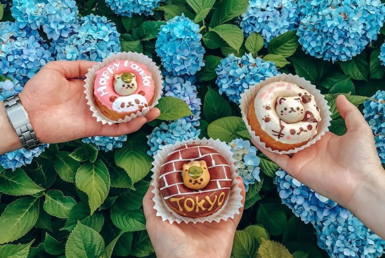 We're suckers for cute eats, and @puno3000 picked these up at Siretoco Donuts!  ...