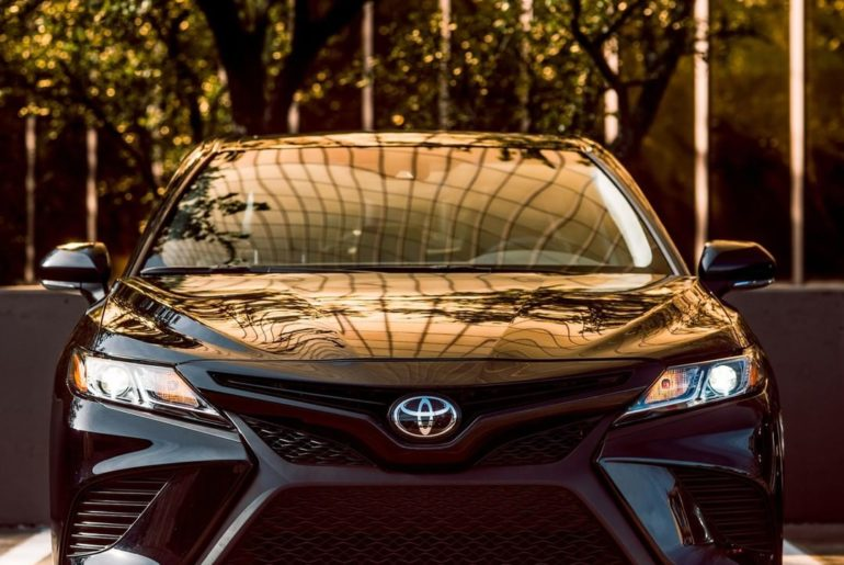 Golden hour looks good on #Camry Nightshade! #LetsGoPlaces...