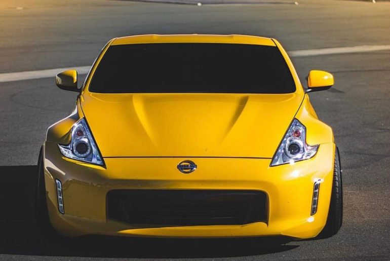 Nothing subtle about it. #Nissan #370Z #Nissan370Z : @tsuki_media : @1_minion_z...