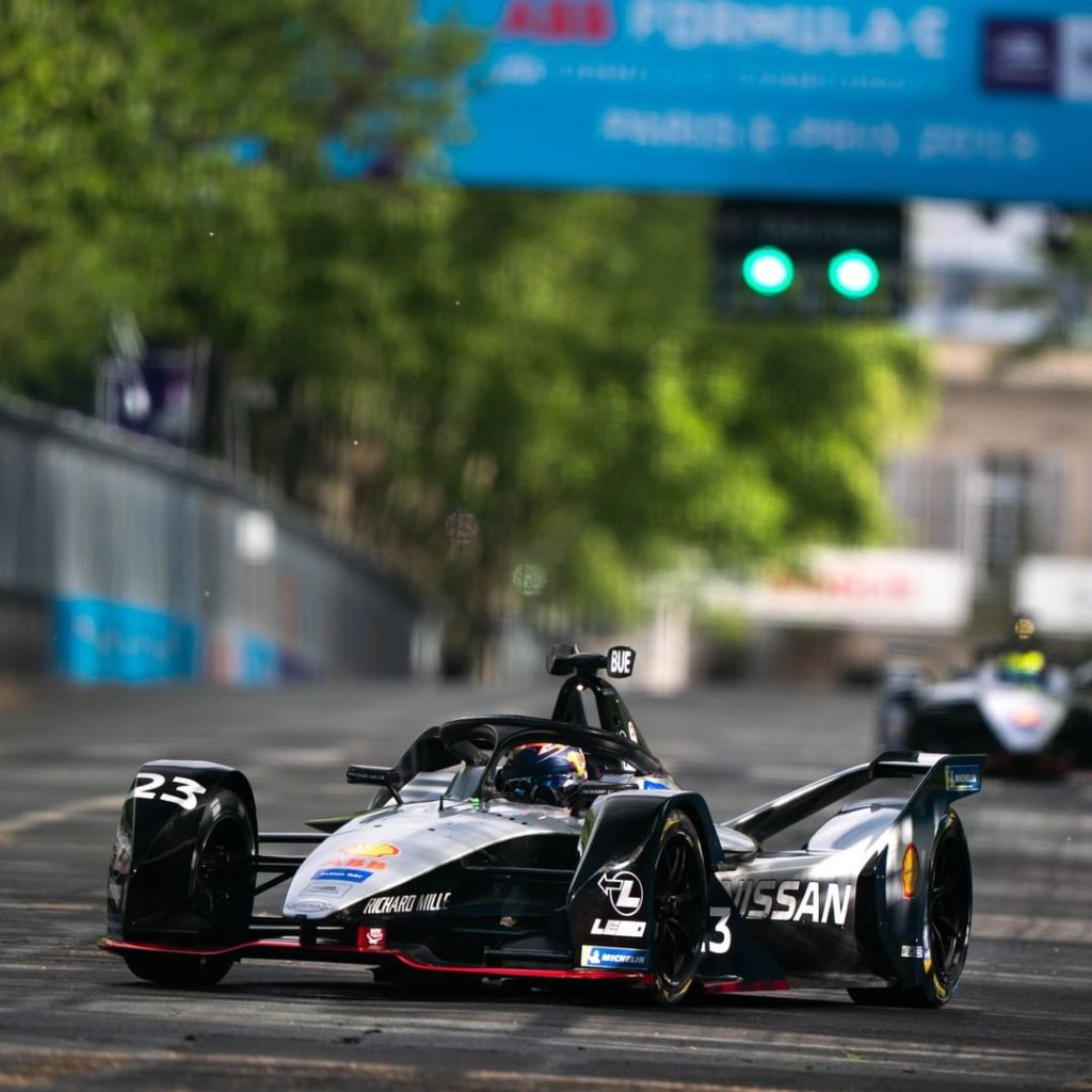 We're all charged up at the #SwissEPrix! Race day! #NissanFormulaE #FormulaE...