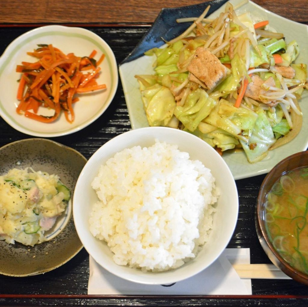 """""""Teishoku"""" is a simple meal that satisfies millions of workers and students acro..."""