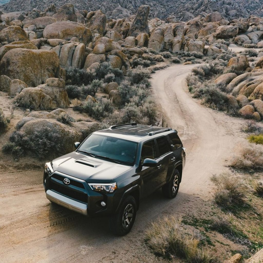 The peace of mind you need to enjoy a piece of nature. #4Runner #LetsGoPlaces...