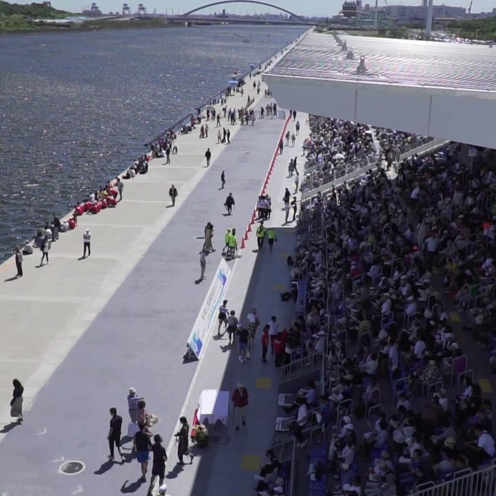 We have officially opened our venue for the #Tokyo2020 rowing and canoe events! ...