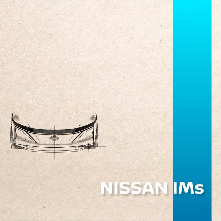 An idea turned into a sketch turned into the future of #Nissan #IntelligentMobil...