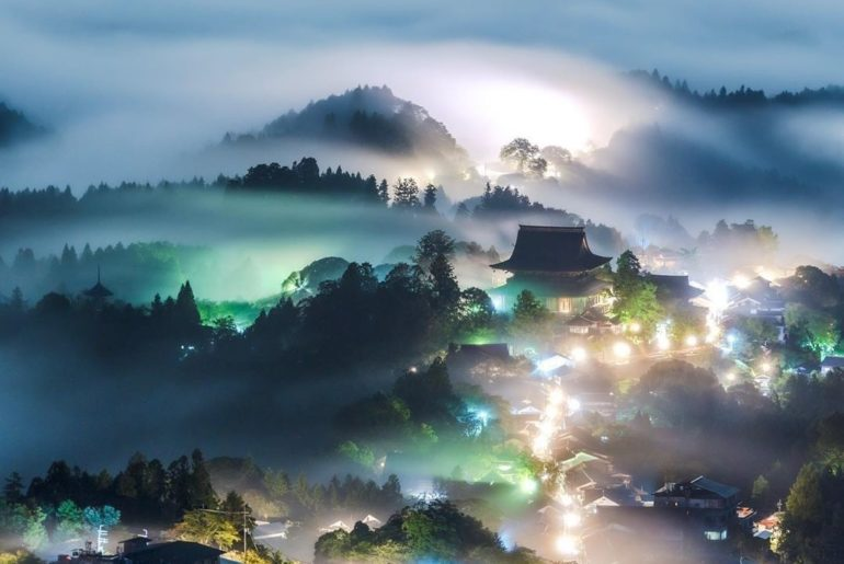 Nara's Yoshinoyama is packed full of history and beauty, and is even designated ...