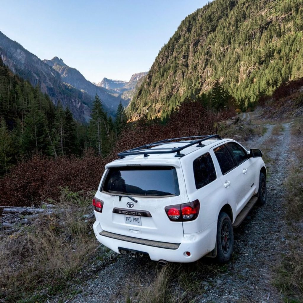 As your challenges get bigger, so does the 2020 #Sequoia #TRD Pro! Arriving soon...